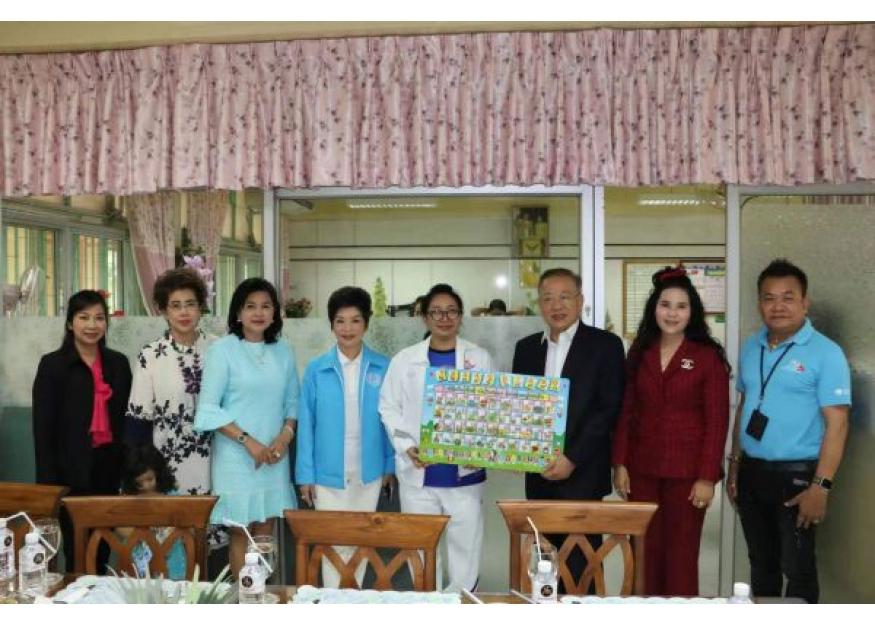 2020–01-10 泰国统促会王志民会长参加LUMPINI小学儿童节庆祝活动