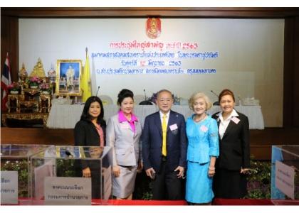 2020–06-12 泰国社会福利总会举行2020年度常务理事大会