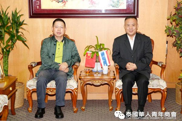 2019–09-05 李桂雄会见中国太平保险香港副总裁黄朝辉一行