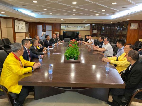 2019–11-06 泰国统促会代表团访问广东省潮联会