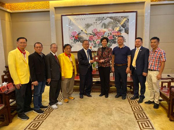 2019–11-07 泰国统促会代表团访问广东省委统战部