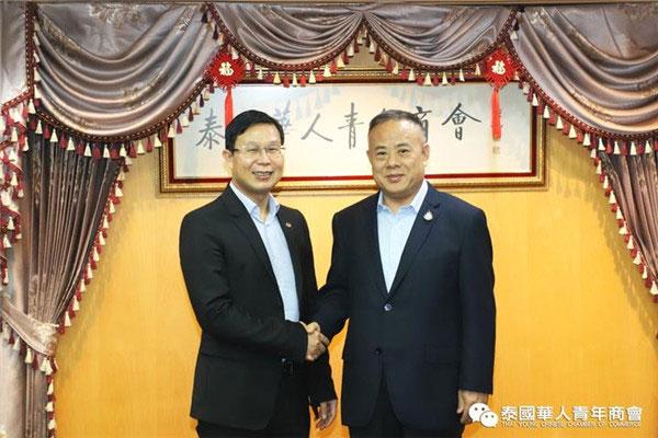 2020–03-04 谢东波访问青商会进一步开拓格力电器泰国市场