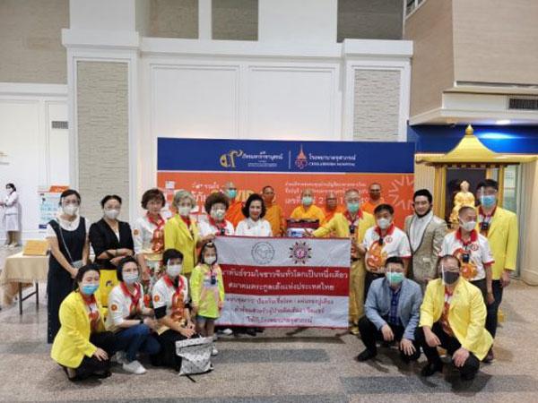 2020–05-21 泰国统促会联合多家机构于朱拉蓬医院向多家医疗机构捐赠物资