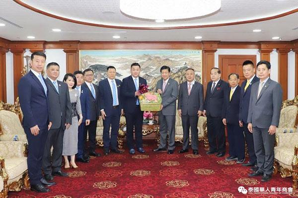 2020–12-08 泰国中华总商会与泰国华人青年商会举行交流座谈会